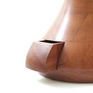 Stummer Diener, Petronella mit Schublade im Sockel aus Kirschbaum